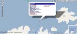 Screenshot showing a selected ship