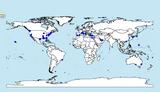Screenshot of Geocoded Naval Bases
