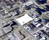 .kml file Imported into Google Earth