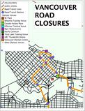 2010 Winter Olympics Road Closures