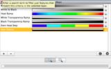 Color Palette Window with New Color Palette