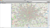 OpenStreetMap of London England