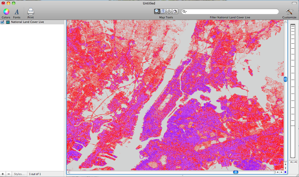 Impervious Surfaces Map (NYC Area)