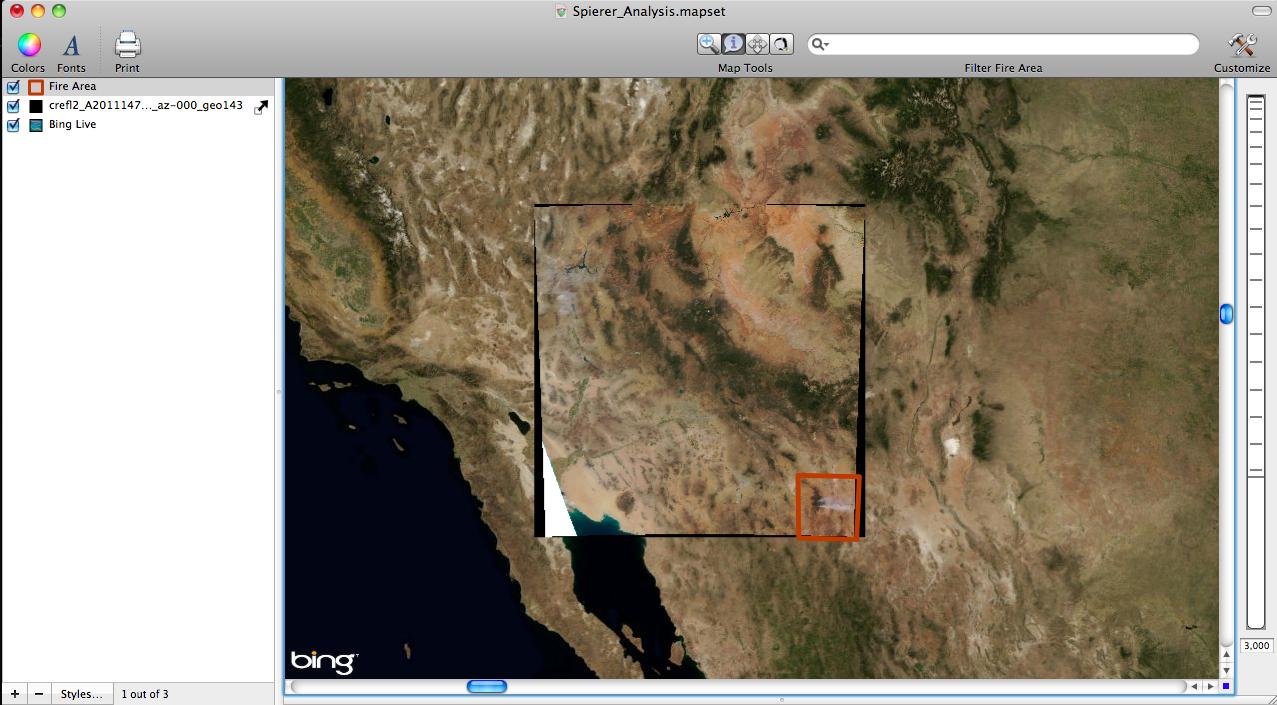 Eastern Arizona Wildfires May 27