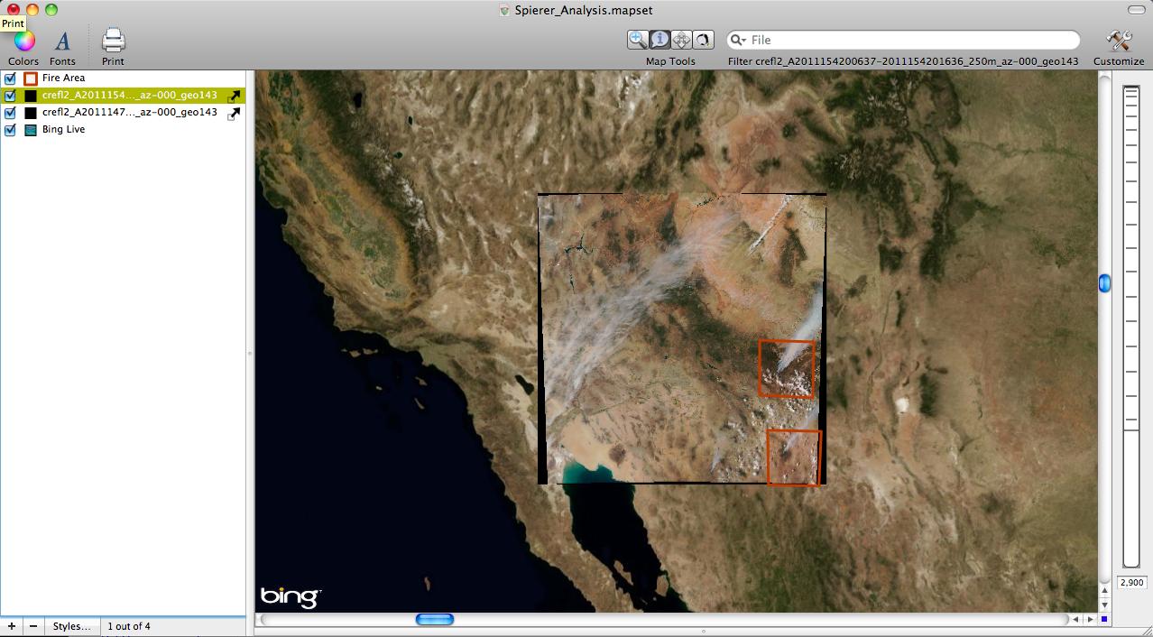 Eastern Arizona Wildfire June 3