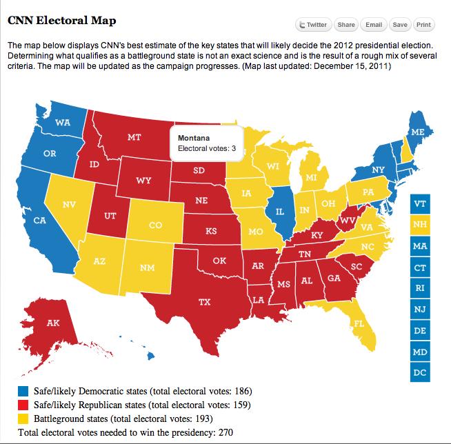 CNN Election Map