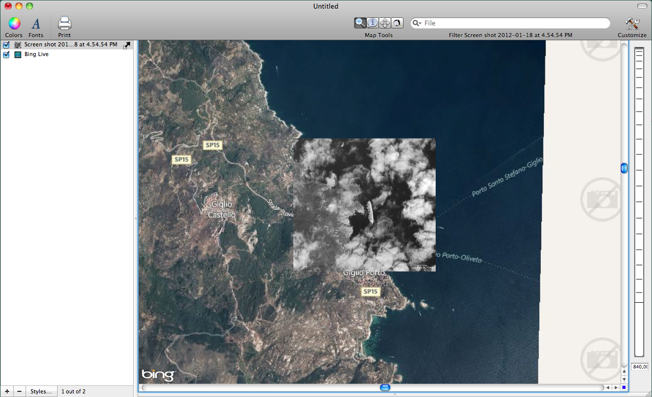 Georeferenced