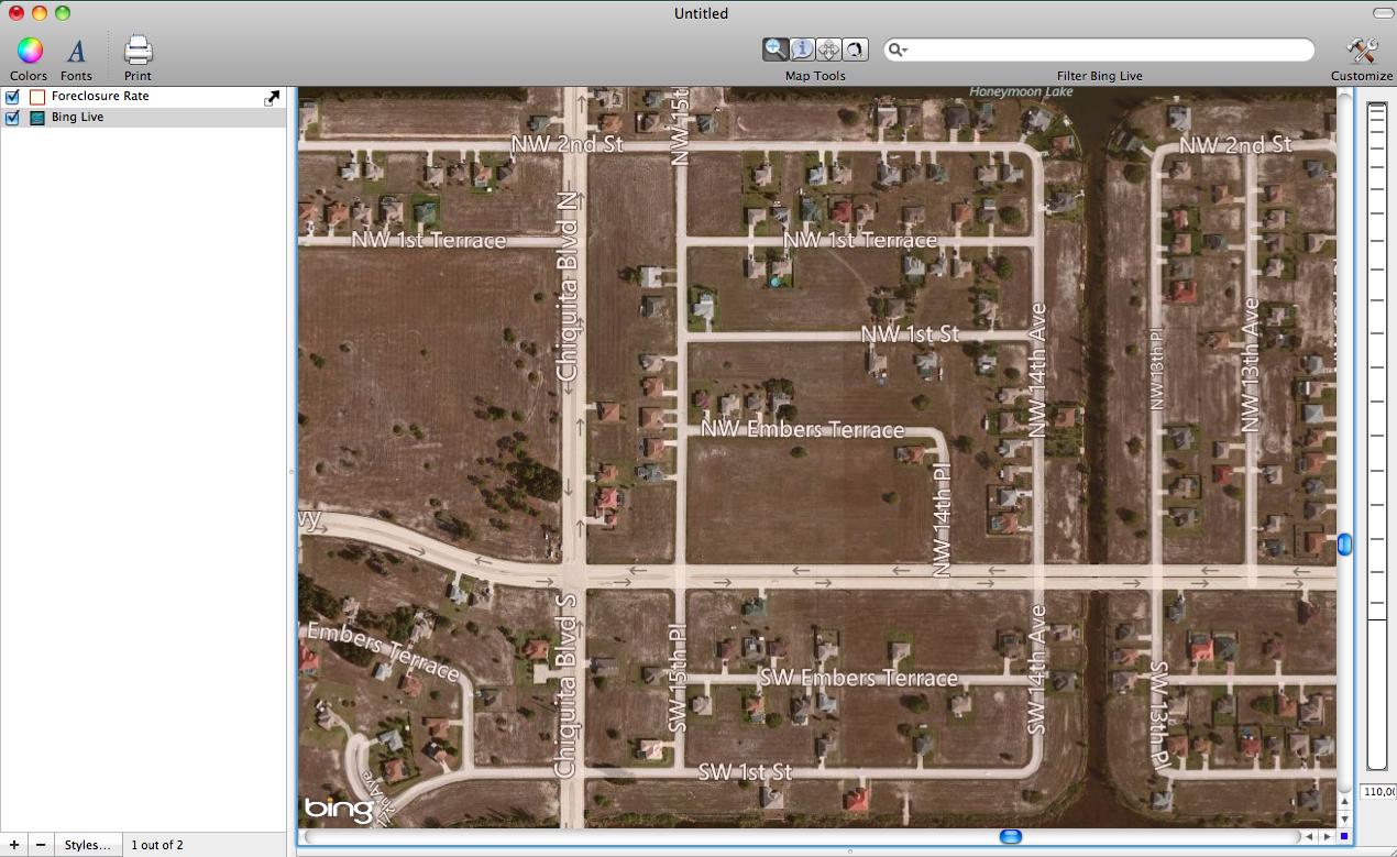 Distressed Neighborhood