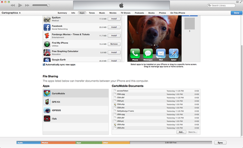 iTunes Copy Window