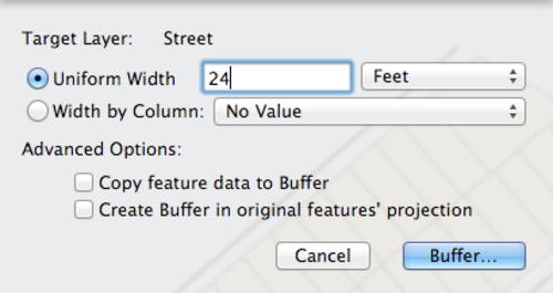 Buffer Options