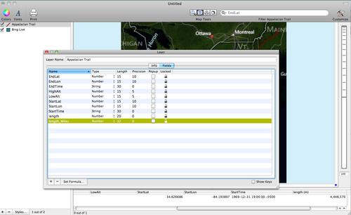 Layer Info Window